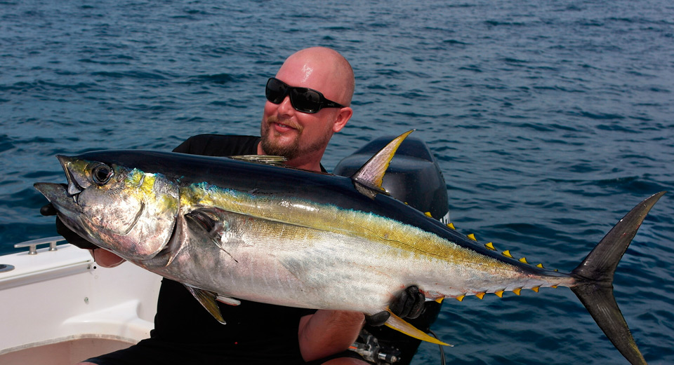 Petter med 20 kilo tonfisk!