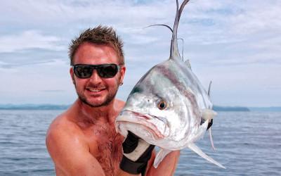 Eddie med efterlängtad Roosterfish
